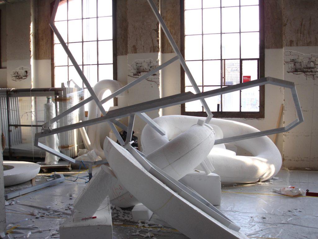 Brigitte Salzmann - Auftragsarbeit Galerie Eva Presenhuber Zürich